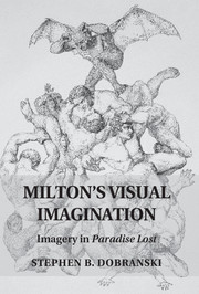 Milton's Visual Imagination book cover