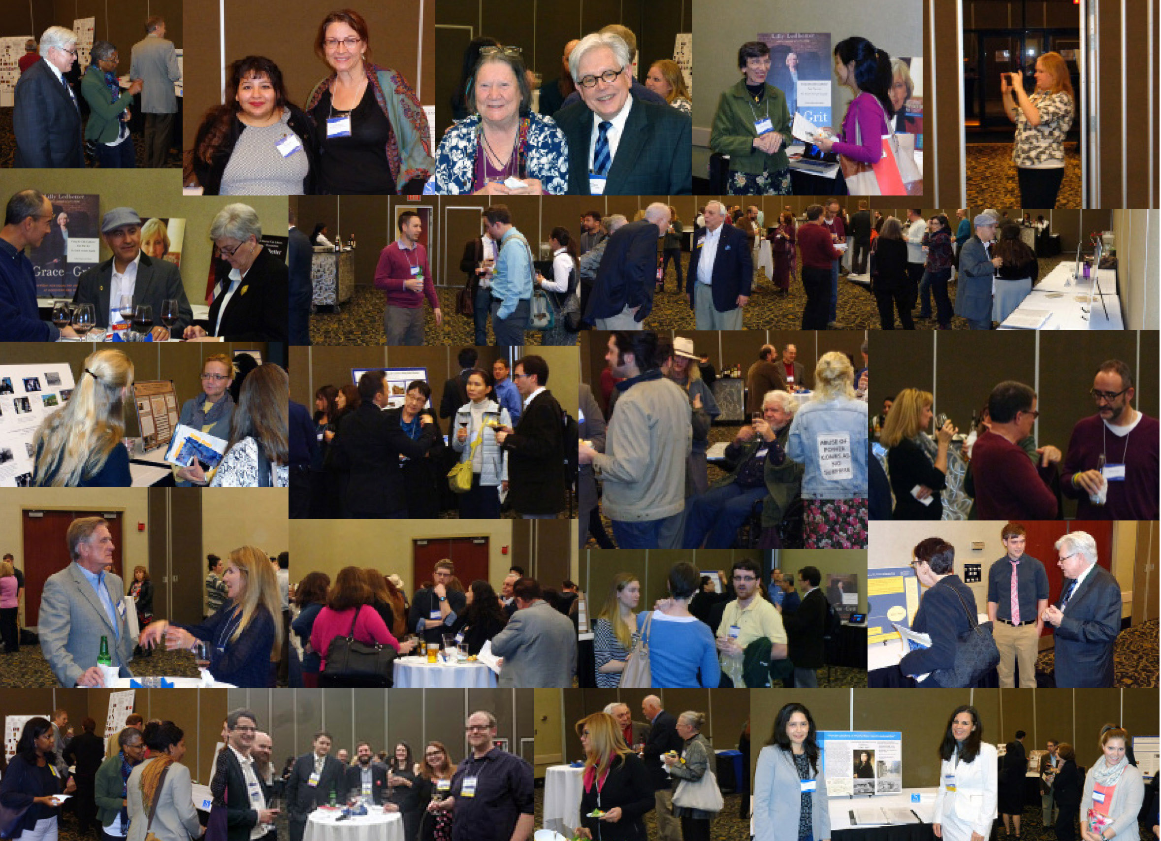 SAMLA 87 conference collage