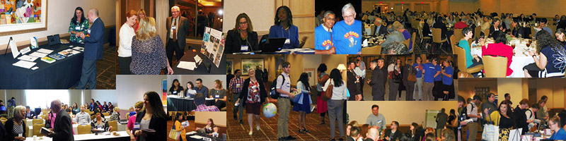 collage of SAMLA 88 Conference moments