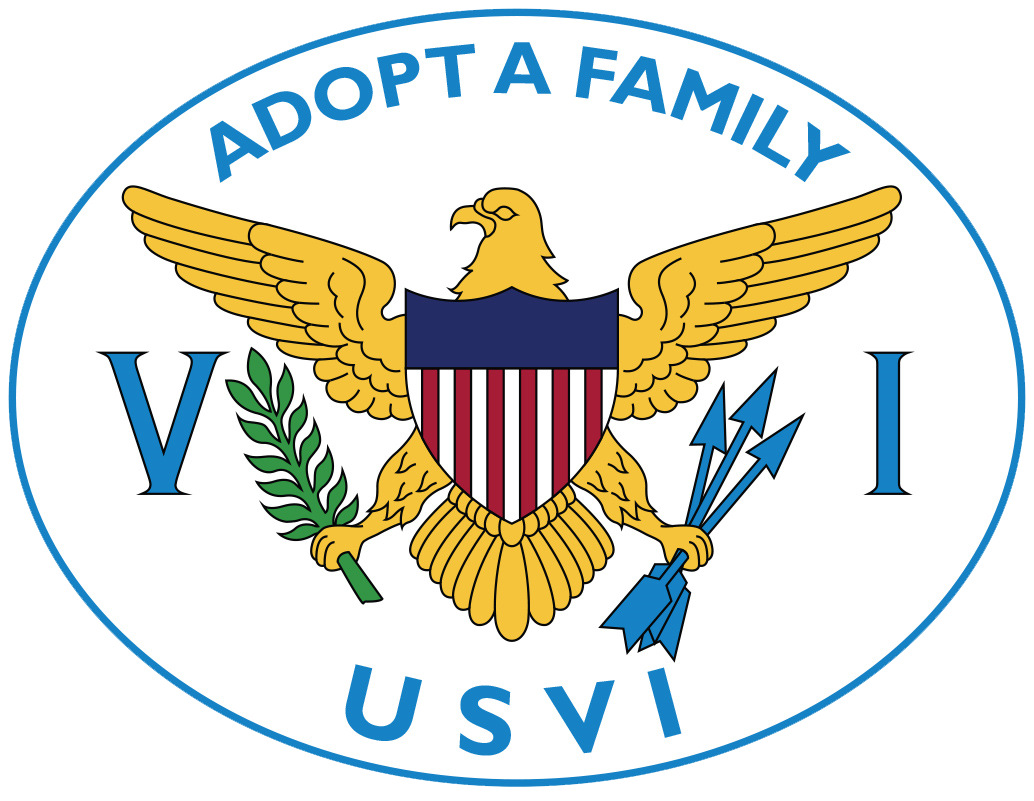 logo: Adopt a Family USVI