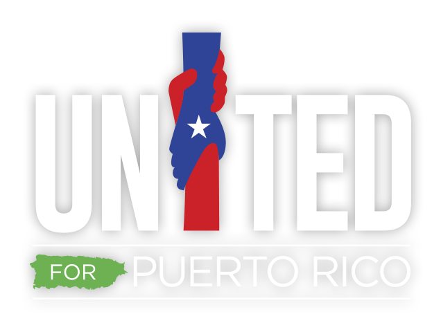 logo: United for Puerto Rico