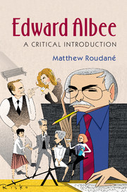 book cover - Edward Albee