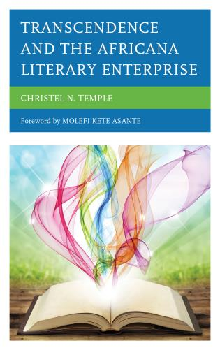 book cover - Transcendence and the Africana Literary Enterprise