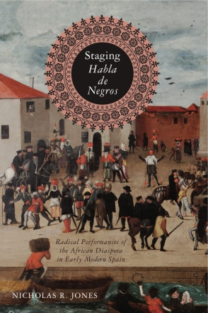 Cover of Jones's Staging Habla de Negros