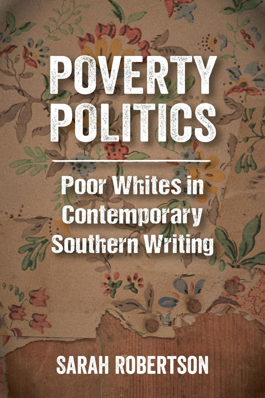 Cover of Robertson's Poverty Politics